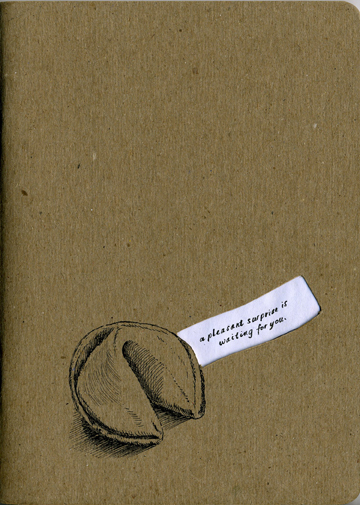Front cover of my 2013 Sketchbook Project